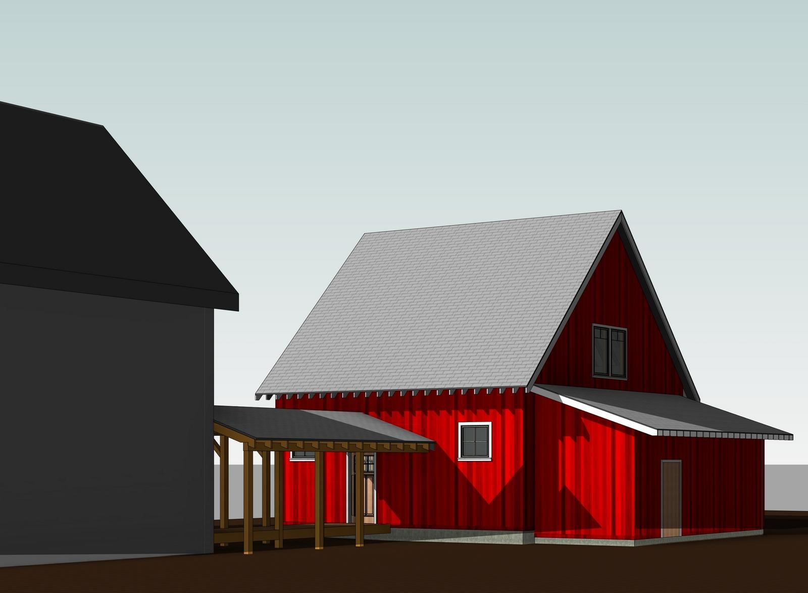 154 Design - Hinesburg Garage Addition